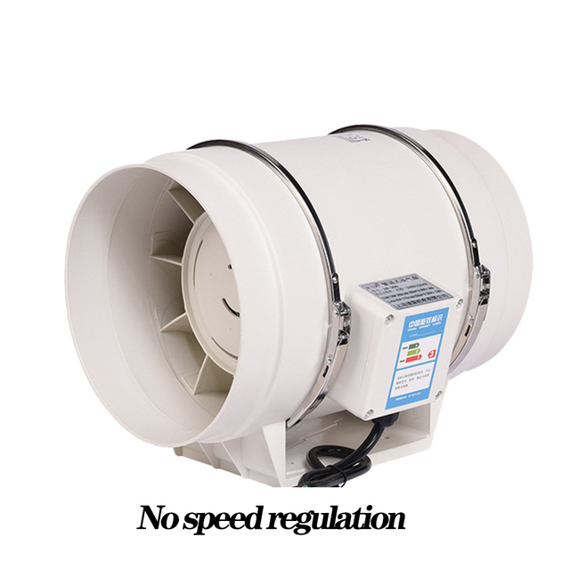 grow box 190 cfm inline duct ventilation fan with variable speed controller for growbox indoor hydroponics grow tent ventilation