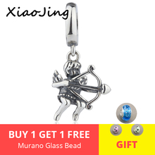 New arrival the Gold of love Cupid pendant charms Fit original pandora Bracelets diy fashion beads Jewelry making women Gifts