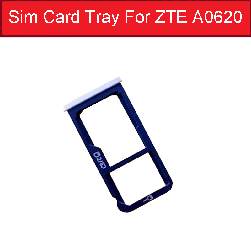 Sim Card Tray Holder Slot For ZTE YuanHang 5 Plus A0620 SD SIM Card Tray Adapter Flex Cable Replacement Parts