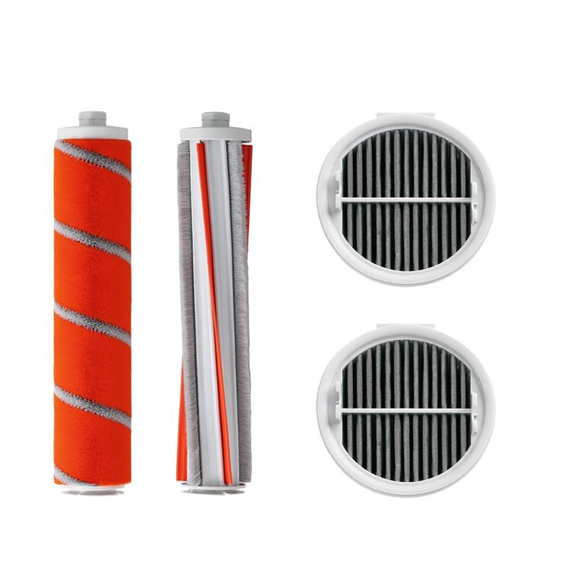 Hepa Filter Roller Brush For Xiaomi Roidmi F8 Wireless Handheld Vacuum Cleaner Parts Accessories Replacement Carbon Fiber Brush