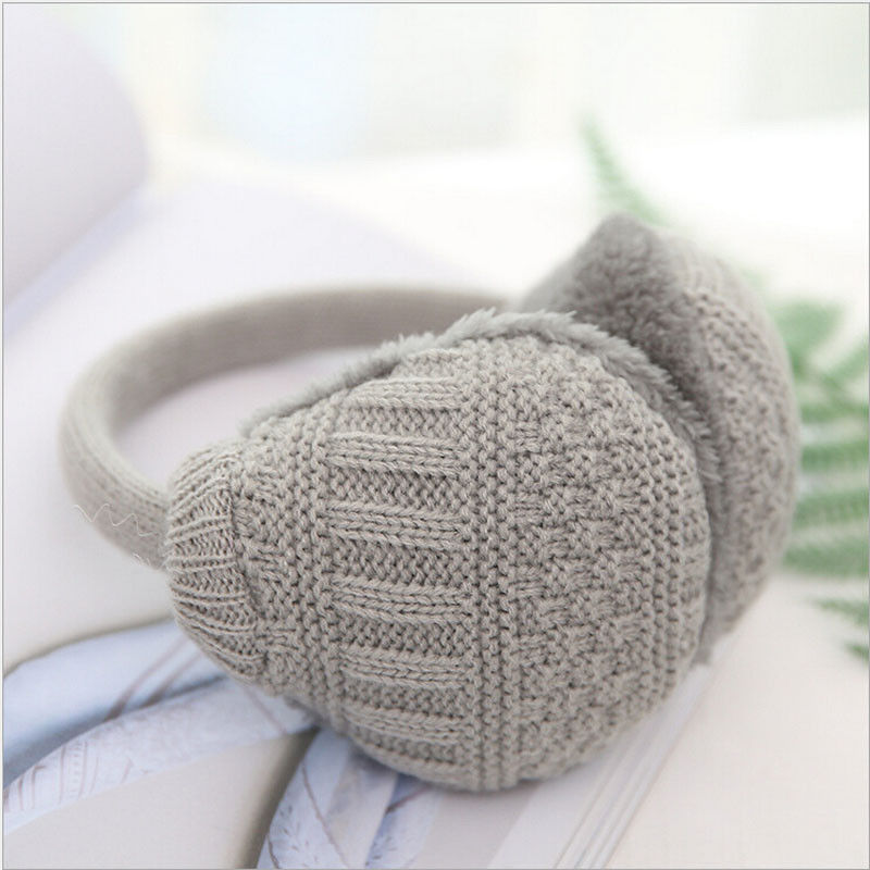 2019 Autumn Winter Adult Earmuff Solid Fleece Warm Cute Ear Muffs Winter Ear Warmers Fleece Earwarmer Men Women Earmuffs