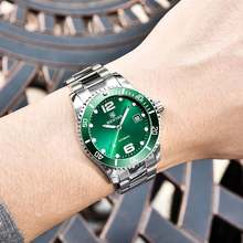 Мужские автоматические механические часы benyar дизайнерские