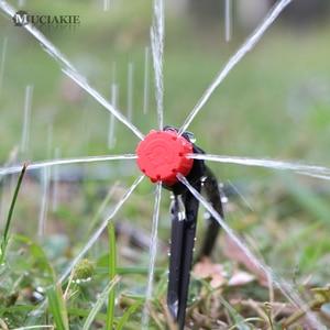 Image 5 - MUCIAKIE 50M 5M DIY Tropf Bewässerung System Automatische Bewässerung Garten Schlauch Micro Drip Bewässerung Kits mit Einstellbare tropfer