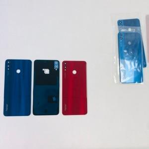"""Image 5 - Original New For 6.5""""Huawei Honor 8X 3D Glass Back Battery Cover Housing+Glass Lens+Camera Frame+Sticker JSN L2, JSN L42 JSN"""