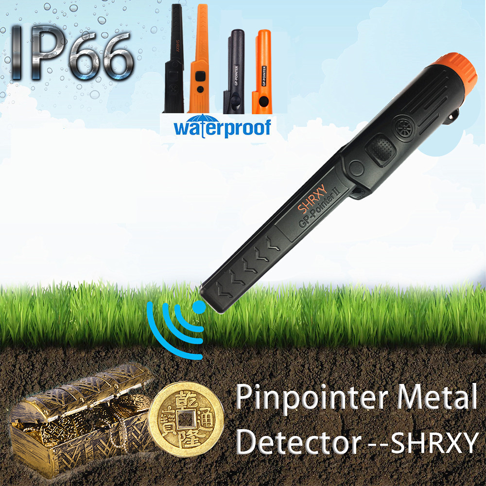 Pinpointing Metal Detector Pro Pinpoint Waterproof Gold Digger for Garden Detecting-in Industrial Metal Detectors from Tools