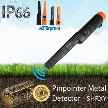 Wykrywanie wykrywacza metalu Pinpoint wodoodporna złota koparka do wykrywania ogrodu tanie i dobre opinie shrxy Elektryczne Zasilany baterią GP-pointer-2 Audio and vibrate at the same time BLACK ORANGE Electrical Water-resistant Design