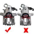 Для Audi A3 TT Seat CORDOBA IBIZA LEON для Skoda задний правый Тормозной суппорт 1J0615424 8N0615424 тормозные детали