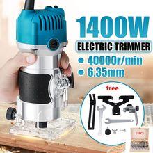 110V/220V Holz Elektrische Trimmer 1280W 35000Rpm Holz Laminat Palm Router Elektrische Hand Trimmer Rand pvc-h-streifen schreiner Holzbearbeitung Werkzeug