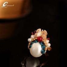 Peking Opera Ring Female Jewelry Personality Creative Decoration Ring Exaggeration Forefinger Rings Wedding Jewelry цена 2017