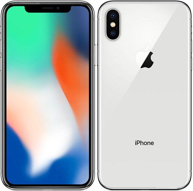 "Apple iPhone X 5.8"" IOS RAM 3GB ROM 64/256GB Face ID A11 Bionic 4G LTE Hexa Core 12MP Original Unlocked Smartphone Cell Phone 2"