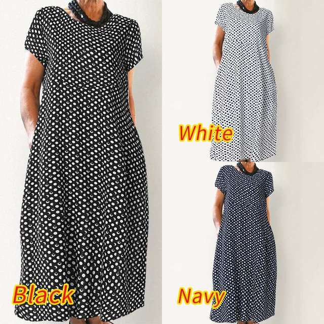 classic  dress, comfortable and has pockets, day dress 5