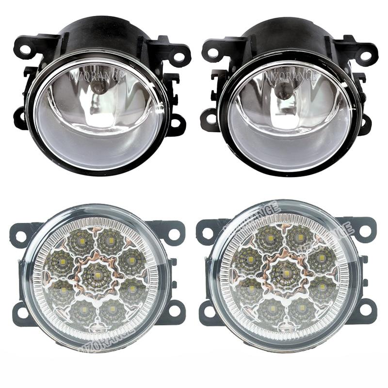 For Citroen C3 C4 C5 C6 C-Crosser Xsara Picasso 1999-2015 LED Halogen Fog Lights DRL Headlights Fog Light Foglights Fog Lamps