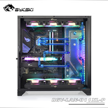 Deflector Distro-Plate Bykski O11 Dynamic Water-Cooling Lianli for XL 12V/5V MB SYNC