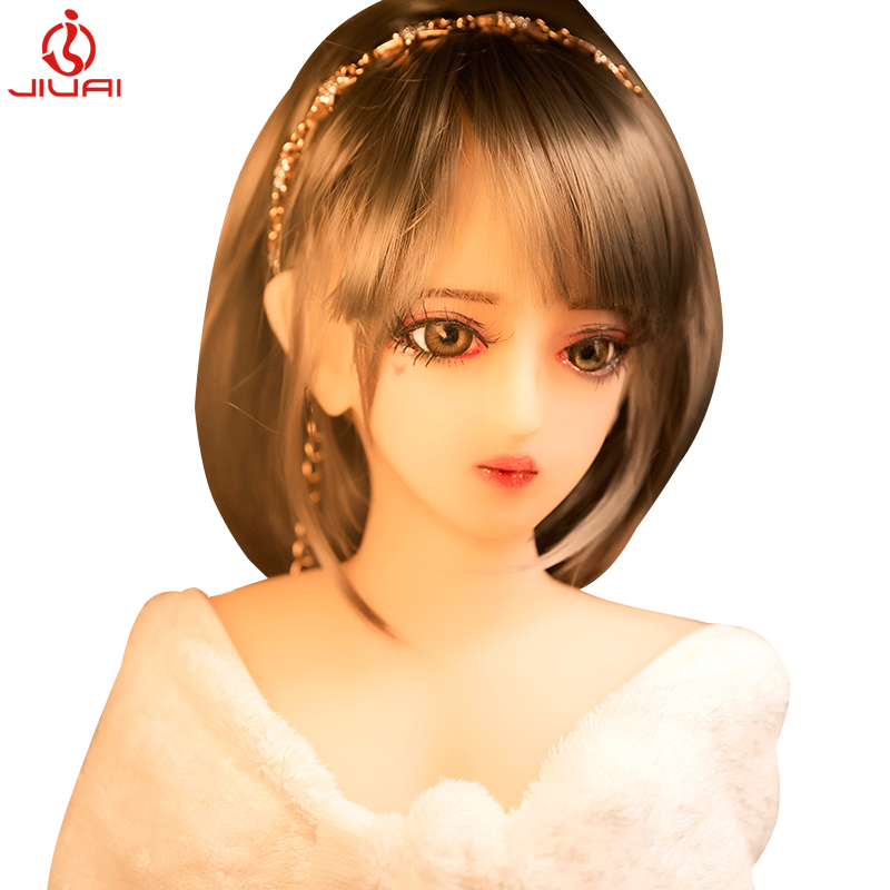Real Silicone <font><b>Sex</b></font> Half body <font><b>Dolls</b></font> Japanese Love <font><b>Doll</b></font> Realistic Toys for Men Big Life Breast Sexy Mini Vagina Adult image