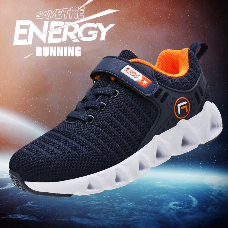 Kids-Boys-Girls-Spring-Autumn-Sports-Running-Shoe-Casual-Breathable Sneaker