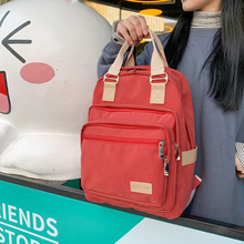 Washable reusable women Backpack Fashion Large capacity high practicality bookbags For Teenage Girls Multi-pocket backpack 2020