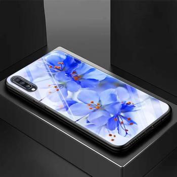 Galaxy A50 Case Flowers