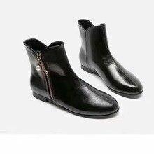 Г. Женские ботинки ботильоны для женщин женская обувь женские ботинки женские черные ботинки botas mujer Bota
