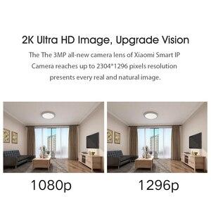 Image 3 - Xiaomi PTZ 2K akıllı kamera 360 derece panoramik 3MP IP kamera ev güvenlik kamera monitör gece görüş Video kamerası akıllı kamera