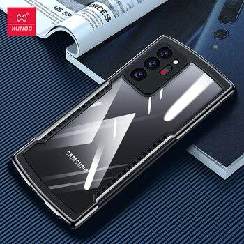 Xundd Caso Per Samsung Galaxy Note 20 Ultra Caso Antiurto Trasparente Della Copertura Per La Nota di Samsung 20 + Note20 Nota 20 più Copertura Della Cassa