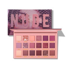 DESRET 18 Colors ROSE Nude Glitter Eyeshadow Matte Shimmer Palette Lasting Waterproof Mineral Eye Shadow Makeup Cosmetic