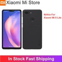 Nillkin For Xiaomi Red Mi 8 Lite case Globle Version For Mi8lite Super Frosted Shield PC Hard Back case For Redmi 8lite