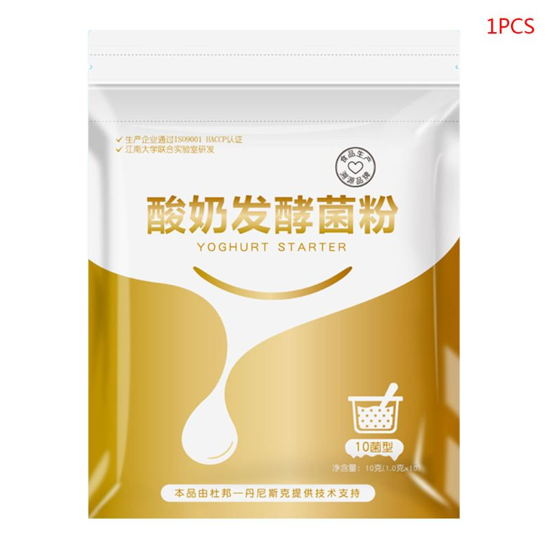 10g Probiotic Yogurt Starer Yeast Lactobacillus Fermentation Powder Maker Homemade Kitchen