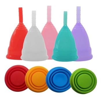 Esterilizador de Copa Menstrual para mujer, higiene femenina, Colector de grado médico,...