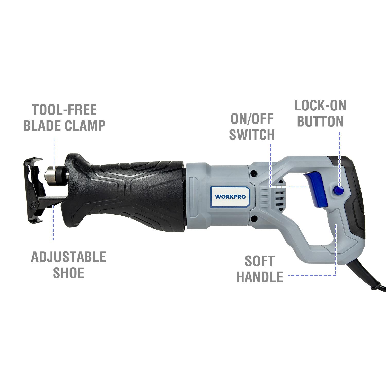 Tool-Free Blade Clamp