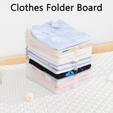 5PCS Clothes T Shirt Organizer For Adult Shirt Storage Board Clothing Folder Products Divider Stackable Clothes Folding Board