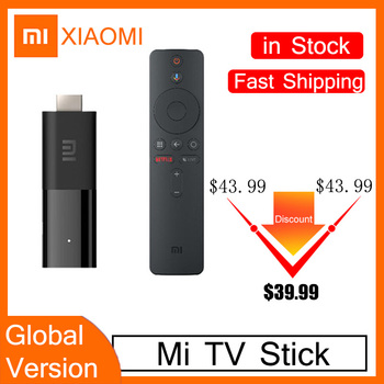 New Xiaomi Mi TV Stick Global Version Android TV 9.0 Quad-core 1080P Dolby DTS HD Dual Decoding 1GB RAM 8GB ROM Google Assistant