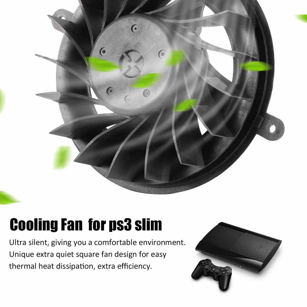For Ps3 Slim 17 Blades Internal Cooling Fan 120gb 160gb 320gb For Sony Playstation3 Slim For Ps3 Slim Aliexpress