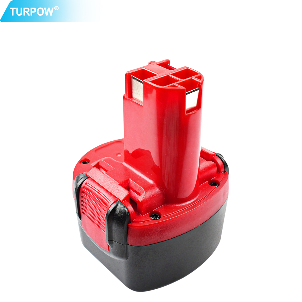 Turpow For Bosch 3000mAh 9.6V NI-MH BAT048 Rechargeable Battery PSR 960 BH984 BAT119 BAT100 BAT001 BPT1041 BH974 2607335260
