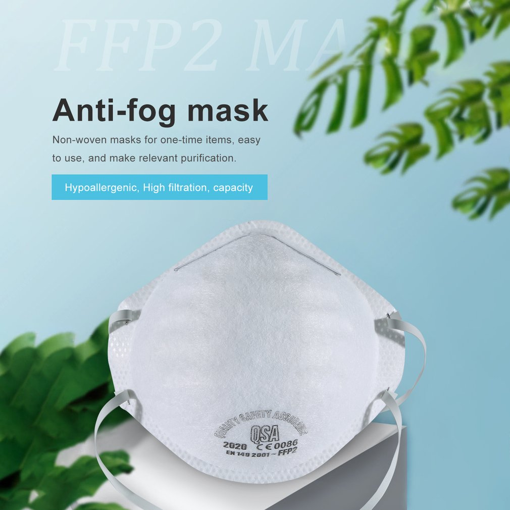 2020 New In Stock FFP2 FFP1 Protective Anti-Fog Headband Round Mask Dust Mask Anti Pm2.5 Bicycle Anti-Dust Mask For Baby Adult
