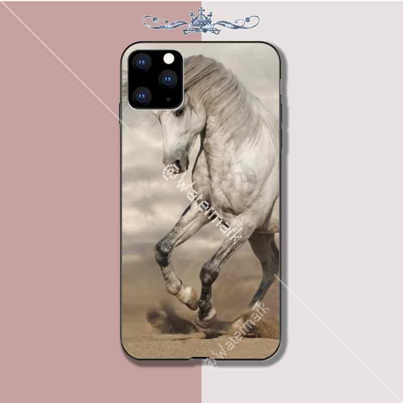 Motirunner الحصان الفاخرة الهاتف حالة كوكه ل فون 5s se 2020 6 6s 7 8 زائد x xs ماكس xr 11 برو ماكس حالات كوكه