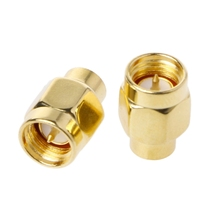 5PCS 50 OHM RF Coaxial Gold plated  Matched Termination LOADS SMA male connector x termination