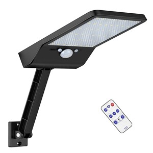 Пульт дистанционного управления 48 LED Солнечный уличный свет Campg сад настенный Путь лампы для фонарика для наружного прожектора прожектор b