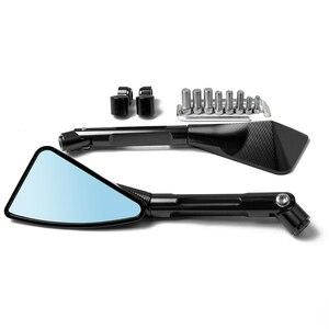 Универсальное алюминиевое зеркало для мотоцикла с ЧПУ, боковое зеркало заднего вида для YAHAMA nmax 155 xj6 XMAX 300 FZ1 BMW F800GS CRF230