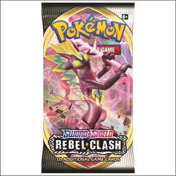 Pokemon TCG: Sword & Shield-Rebel Clash Booster Display (36 Packs) 2