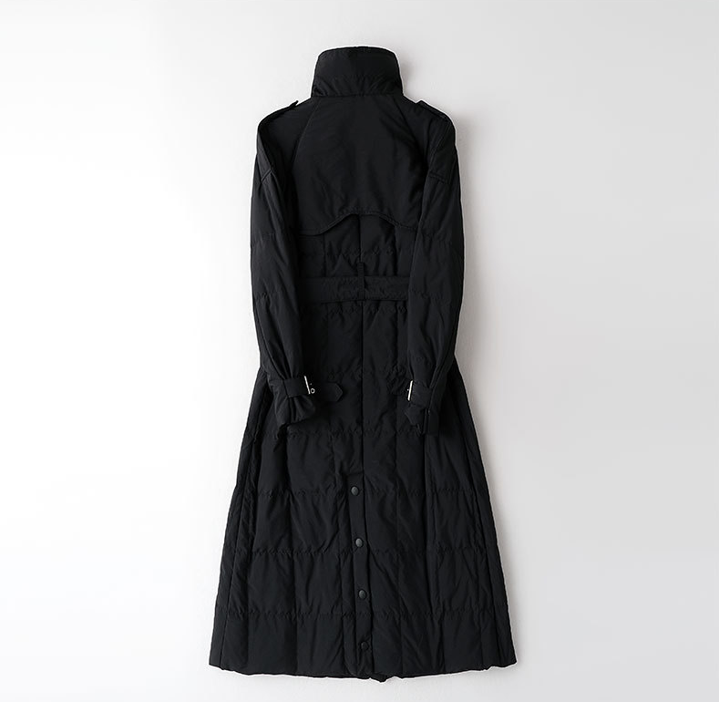 Casaco de inverno feminino ayundeal, jaqueta parka longa moderna vintage, manteau femme hk001 2020