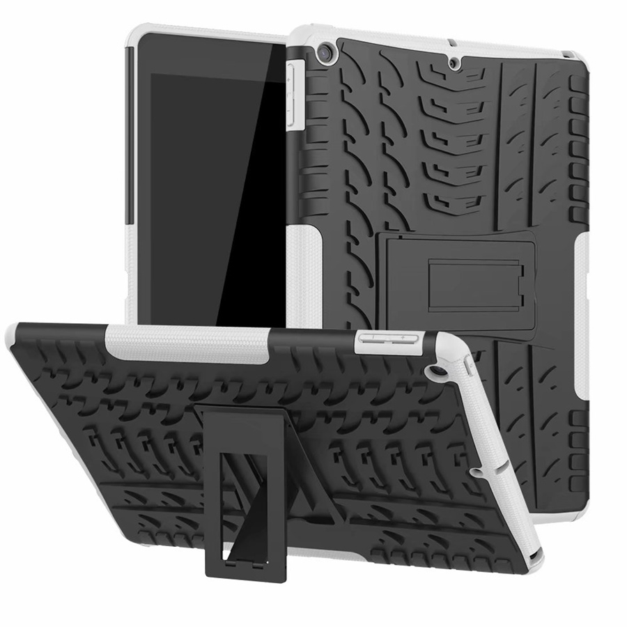 white Black Heavy Duty Rugged Armor Case For Apple ipad 10 2 2019 TPU PC Shockproof Cover For