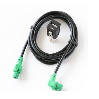 USB Input Cable Wire Harness CD Player Aux Adapter for BMW 3 X5 X6 Z E88 E90 E91 E91 F10 F11 F18 image