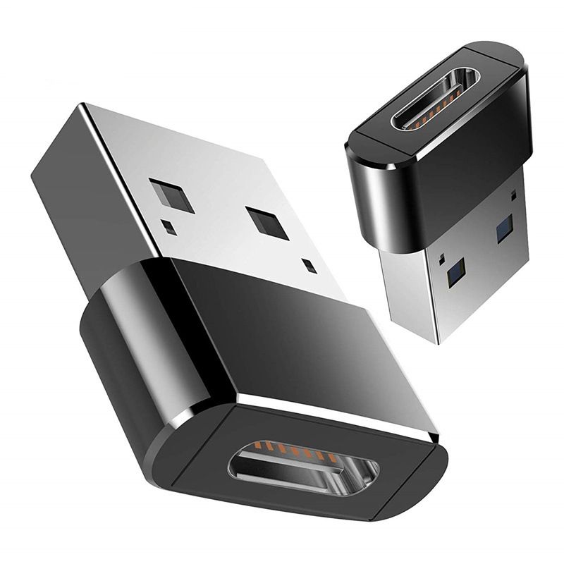 USB 3.0 Type A Male To USB 3.1 Type C Female Connector Converter Adapter USB Standard Charging Data Transfer