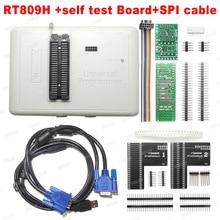 100% оригинальный новый универсальный программатор RT809H EMMC Nand FLASH TSOP56 TSOP48 кабель EDID ISP Header01 VGA HDMI BGA63 BGA64 BGA169