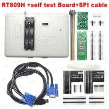 100% oryginalny nowy RT809H EMMC Nand FLASH uniwersalny programator TSOP56 TSOP48 EDID kabel ISP Header01 VGA HDMI BGA63 BGA64 BGA169