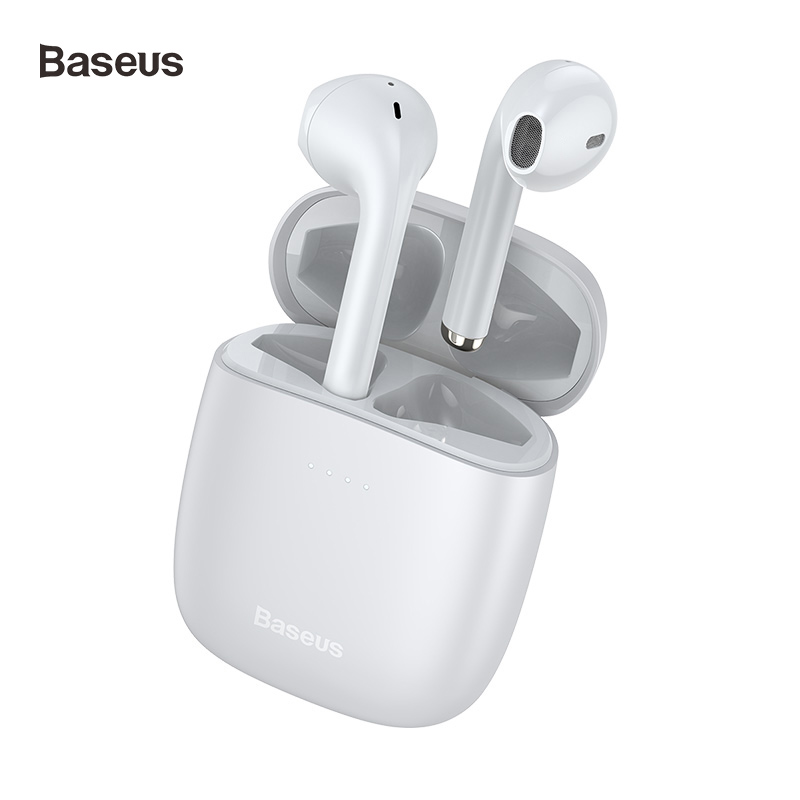 Baseus W04 Sports Tws Wireless Headphones Bluetooth Earphone 5.0 In Ear Headset Handsfree Mini True Wireless Earbuds For Phones