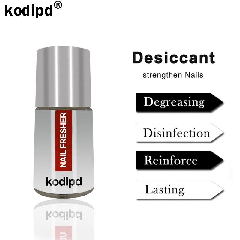 Kodipd novo prego mais fresco verniz híbrido 15ml gel unha polonês base e casaco superior conjunto manicure primer dessecante para unhas pintura gel