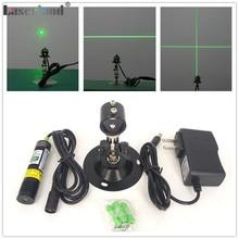 1875 532 نانومتر 10mW 20mW 30mW 50mW الأخضر جهاز تحديد الخطوط بالليزر نقطة نقطة عبر خط مولد الليزر ديود محدد للخشب حجر المنشرة