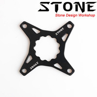Stone chainring for rotor to 104 BCD adapter spider converter single speed 104bcd narrow and wide tooth 5mm offset crank parts