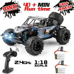 Vehicle-Toys Remote-Control-Car Rc-Car-Scale Adults High-Speed Off-Road 1:18 Kids 9303E